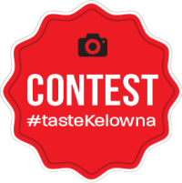Taste Kelowna Contest Badge