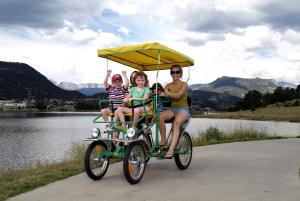 Family Marina Bike Ride