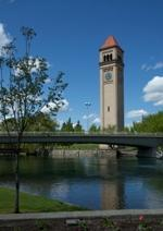 Clocktower by River
