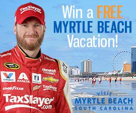 TaxSlayer.com VisitMyrtleBeach.com Vacation Giveaway