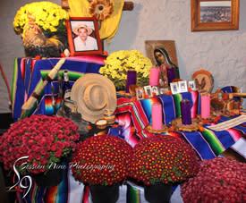 ofrenda at Dia de los Muertos Festival in Topeka