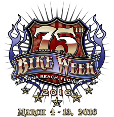 75th Bike Week Logo