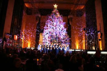 Holiday Tree at Durham