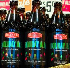 Red Rock Brewery Holiday Ale