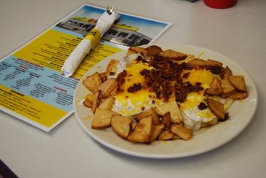 Breakfast at Oasis Diner