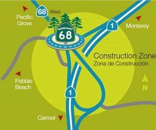 Highway 68 Roundabout project
