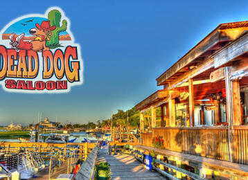 Myrtle Beach Restaurants - Dead Dog Saloon