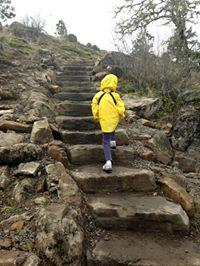 Rainy Hike Up Spencer Butte Trail