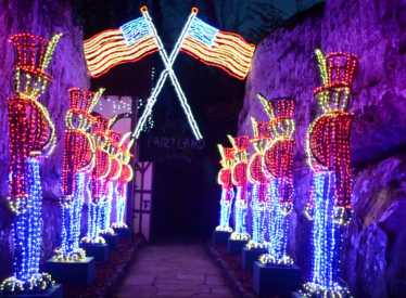 Rock city gardens for Rock city enchanted garden of lights coupon