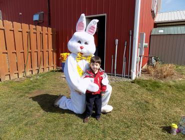 Annual Bunny Hunt at Wickham Farms