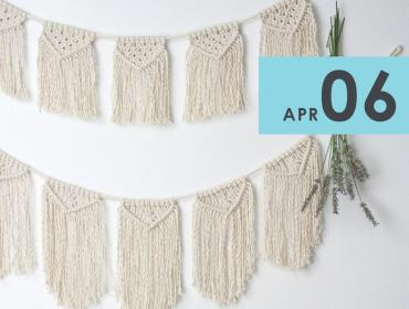 Make Your Own Macrame Banner