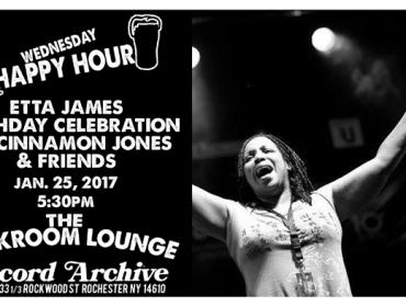 Happy Hour with Cinnamon Jones & friends