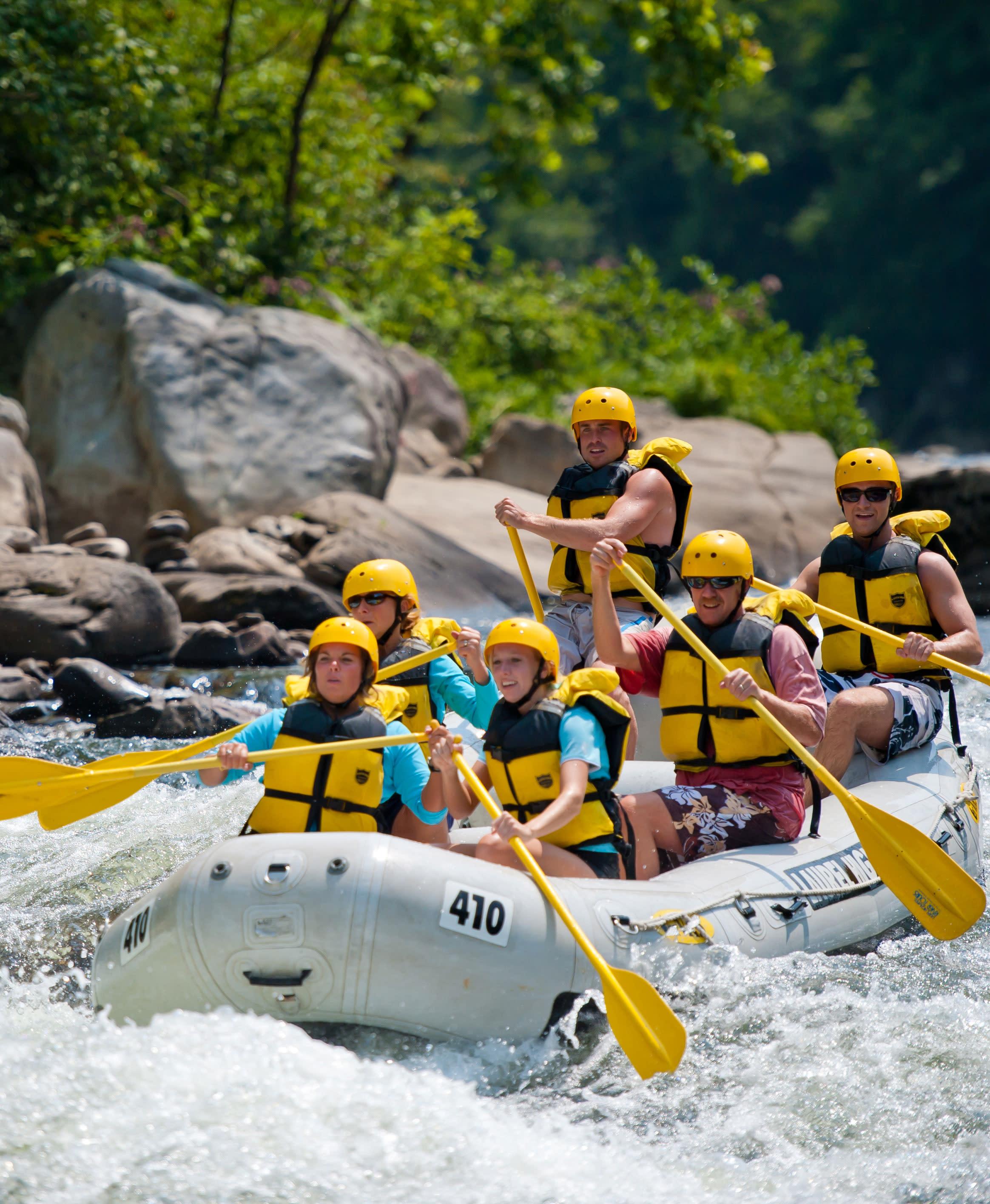 Ohiopyle Rafting