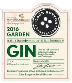 Black Button Garden Gin