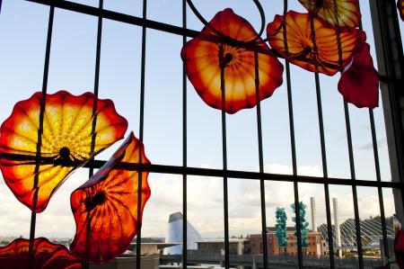 Glass Art at Union Station