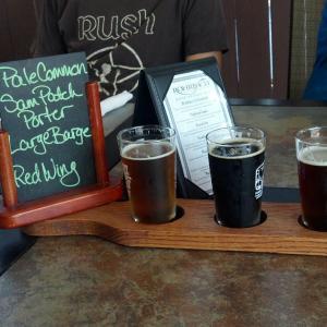 Rohrbach's Beer Tasting Flight, Rochester, NY