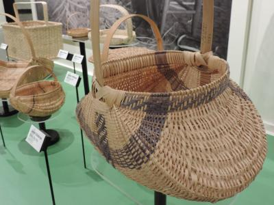 Close up of White Oak Basket