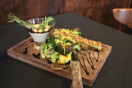 An appetizer at Arista Pasta in Puyallup, Washington