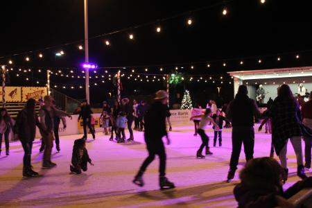 Ice Rink--Merry Main Street
