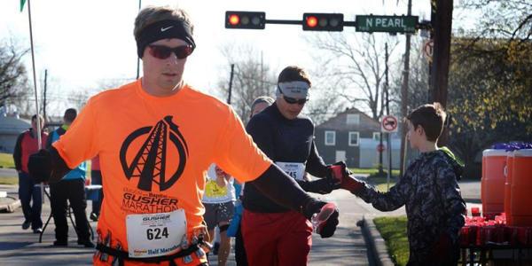 Gusher Marathon Runner