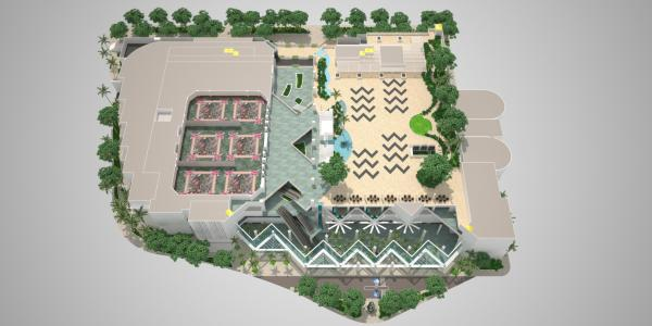3D HCC Floor Plan - Level 4