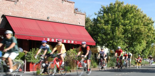 Bike Riding in Yountville