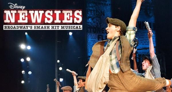 Disney's Newsies performance