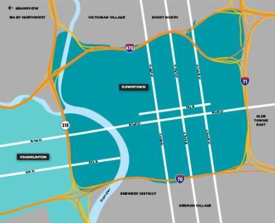 Downtown Neighborhood Map