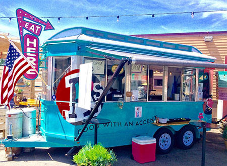 A's Food With An Accent Food Truck
