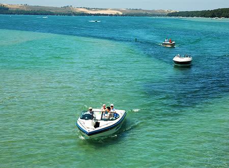 Glen Lake boating