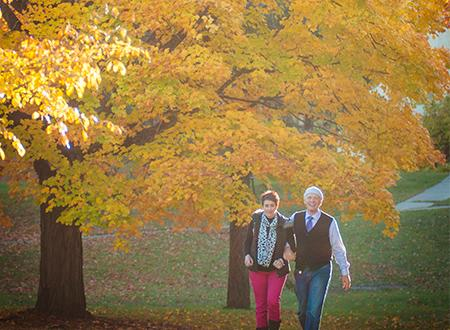 Fall Stroll in the Village at Grand Traverse Commons