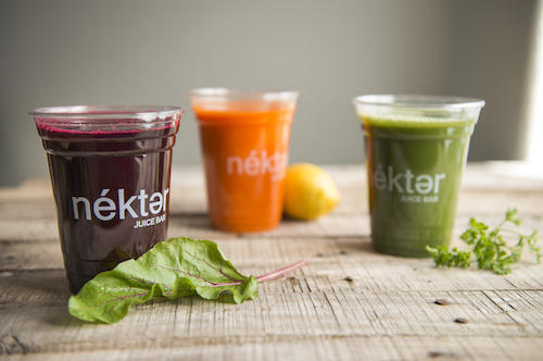 Grab a refreshing juice or smoothie at Nekter Juice Bar in Downtown Huntington Beach