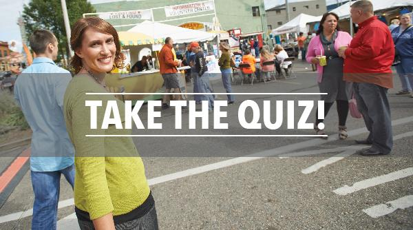 Festival Personality Quiz