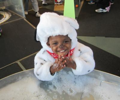 Trick or Treating at Grand Rapids Children Museum Halloween