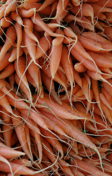 Saturday Market Carrots