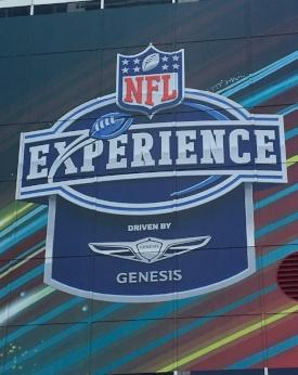 NFL Experience sign