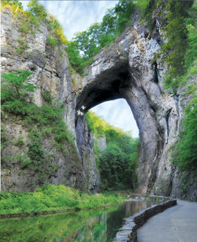Natural Bridge - Natural Sites