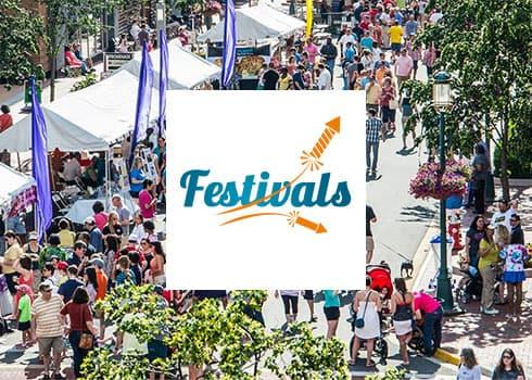Festivals - Spring Landing Page
