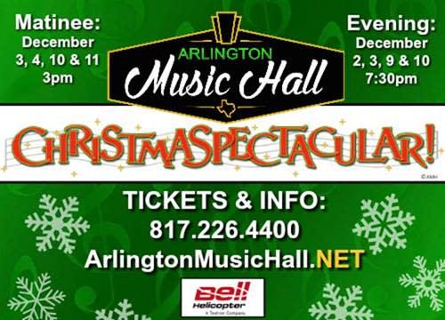 Arlington Music Hall Christmas Spectacular