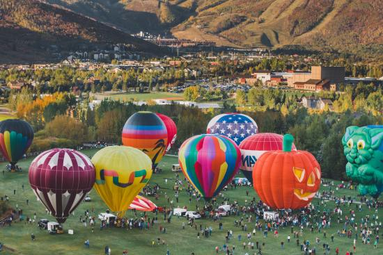 Autumn Aloft with a Scenic View of Park City