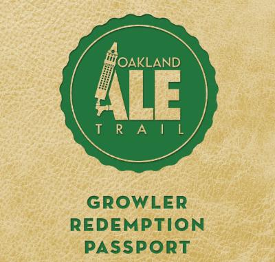 Oakland Ale Trail Growler Passport
