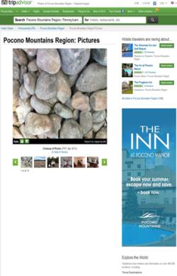 2015 Spring/Summer Online - Trip Advisor - The Inn at Pocono Manor