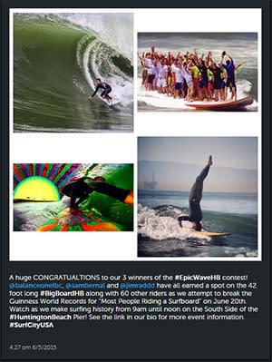 Epic Wave Contest Instagram Winner Announcement