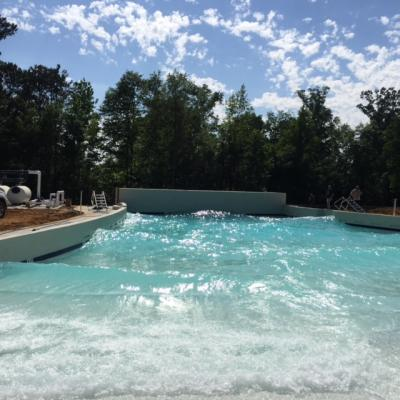 Sandy Beach Wave Pool