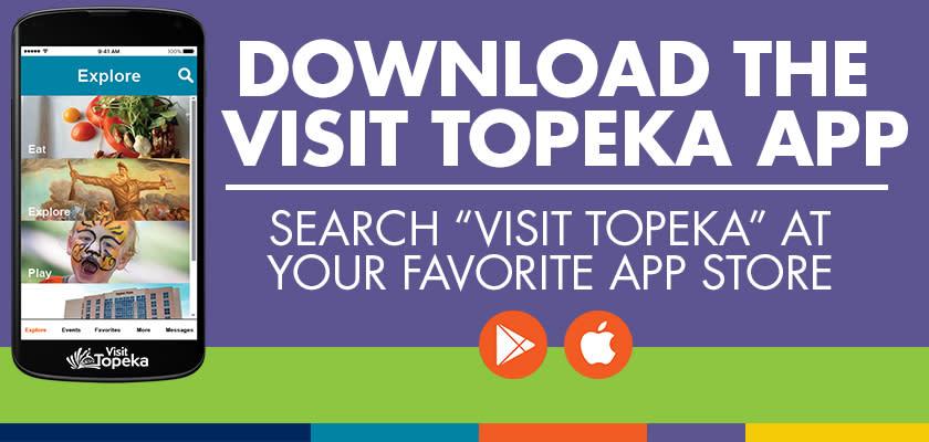 Download Visit Topeka App