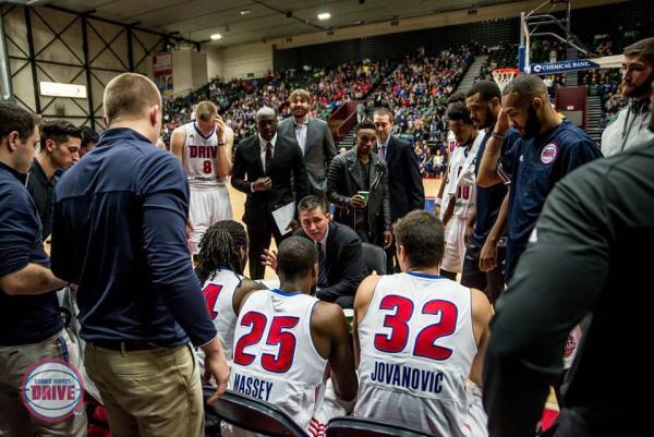 Coach Rex Walters Grand Rapids Drive
