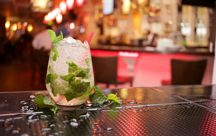 Mojito Glass on Bar