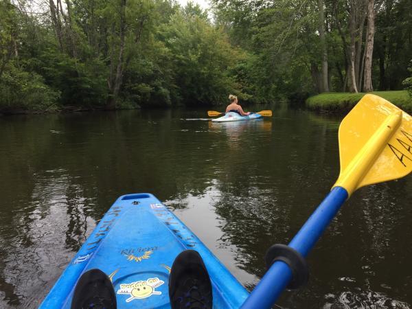 Rogue River canoe kayak