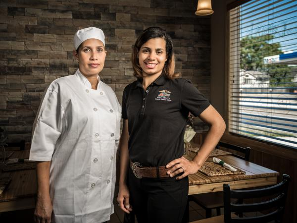 Chef Julissa Diaz and owner/manager Rosi Vialet