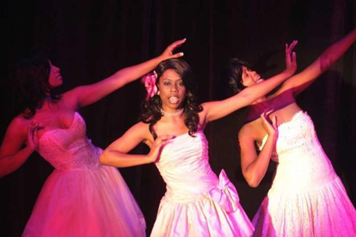 Dancers Performing at Ensemble Theatre
